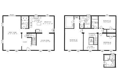 Parkersbury Floor Plan
