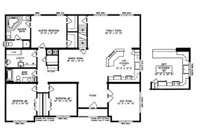 Buckhingham Floor Plan