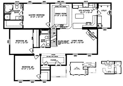 Cambridge Floor Plan