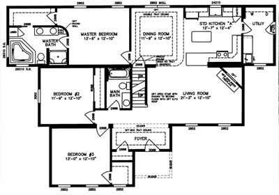 Essex Floor Plan