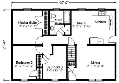Mayberry Floor Plan